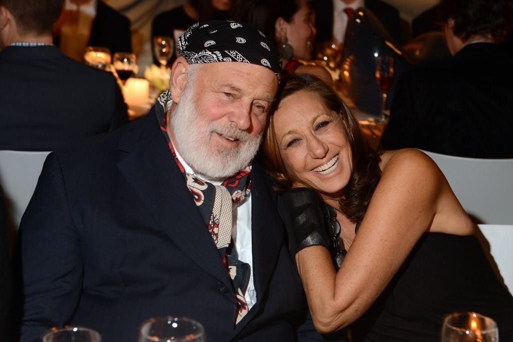 Bruce Weber and Donna Karan
