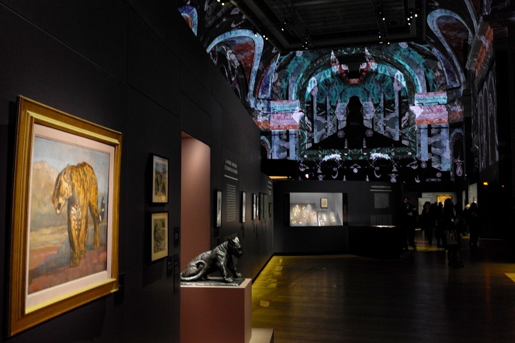 The Cartier exhibition at the Grand Palais