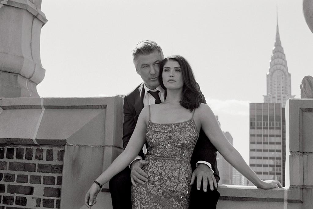 Alec Baldwin and Gemma Arterton in the 2014 Zeiss Art Calendar.