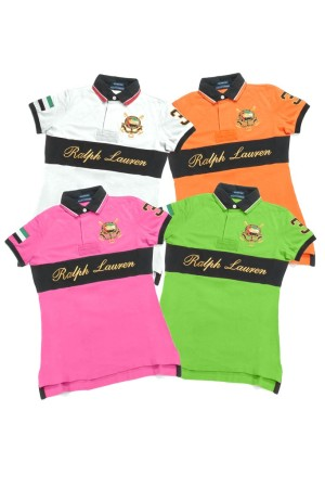 Ralph Lauren's shirts for teams participating at the UAE Ladies Polo Tournament.