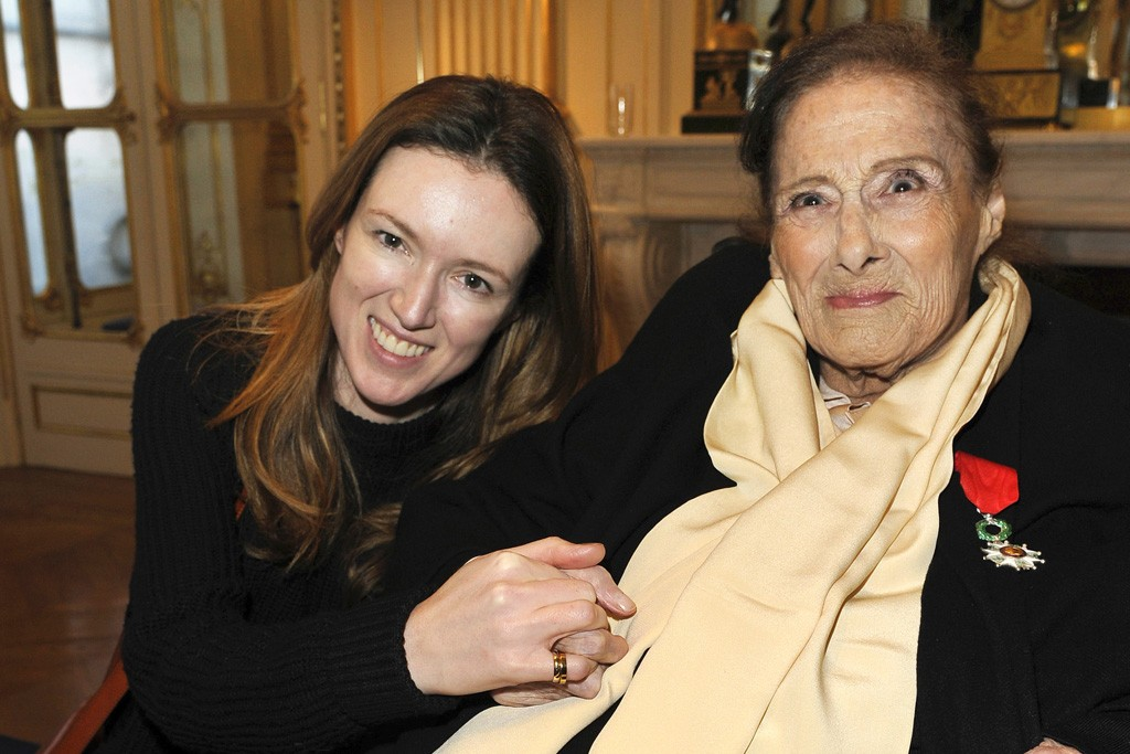 Clare Waight Keller and Gaby Aghion