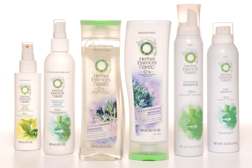 The Naked Collection for Herbal Essences.
