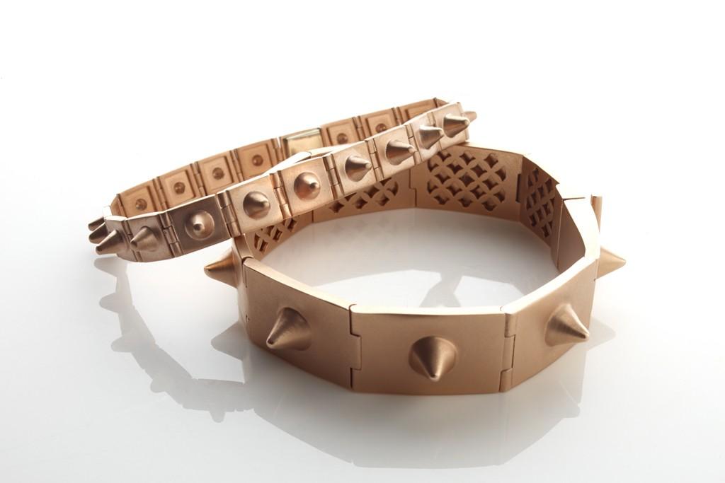 Bracelets from the Jillian Dempsey Jewelry line.