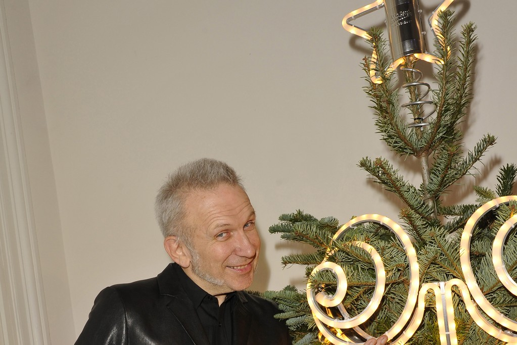 Jean Paul Gaultier and his tree.