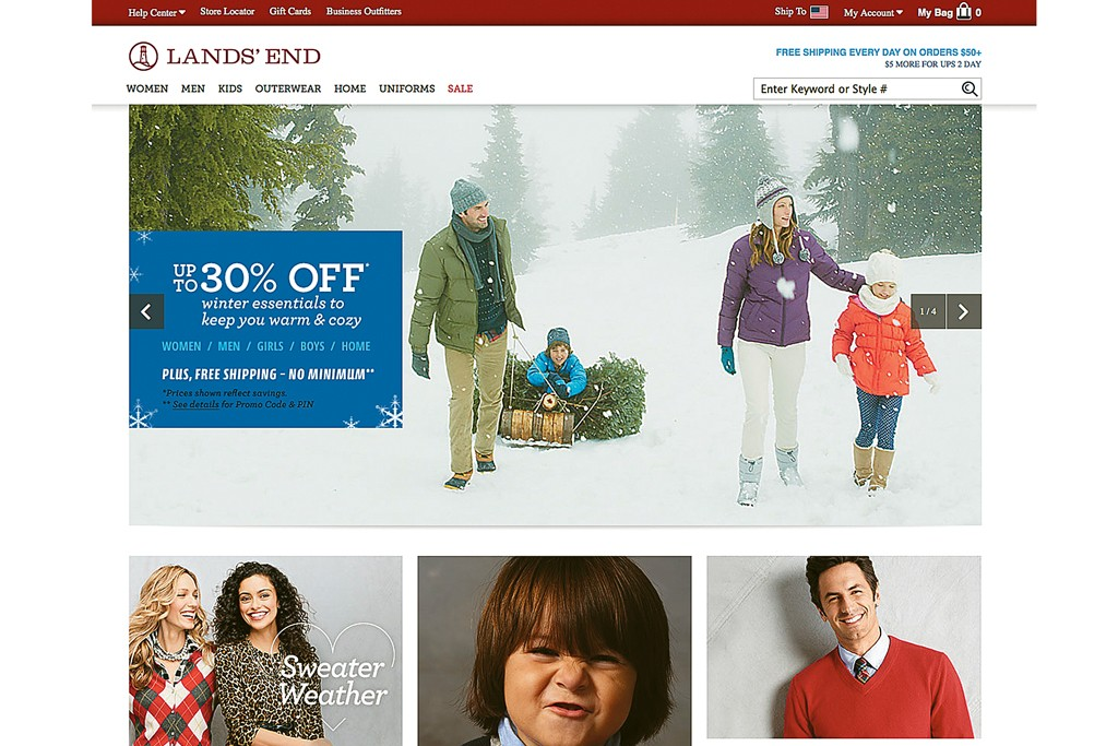 Ramping up Lands' End's digital operations is a priority for the company.