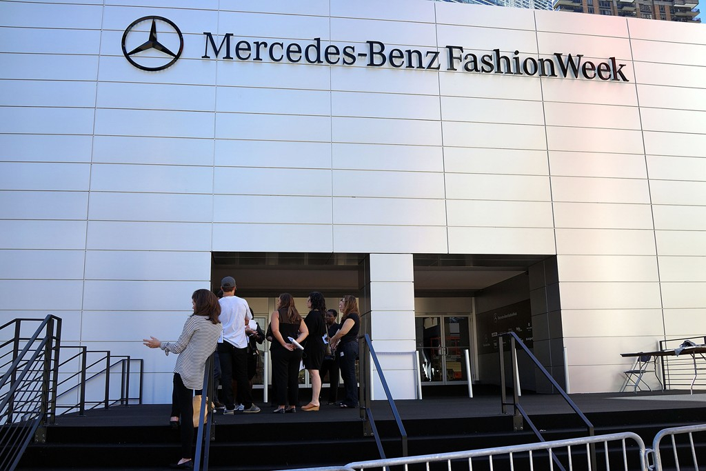 IMG's contract for New York Fashion Week with Lincoln Center runs through February 2015.