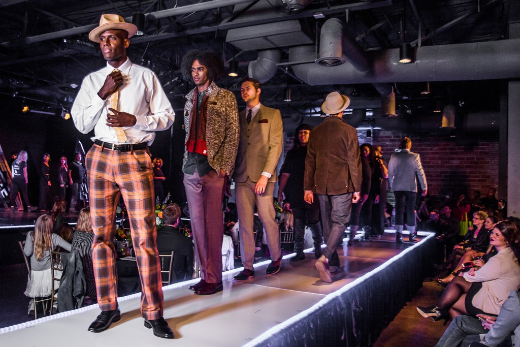 Looks from the Haggar Vintage fashion show.