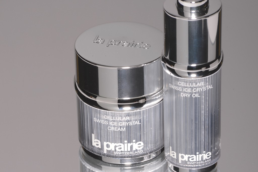 Cellular Swiss Ice Crystal from La Prairie.