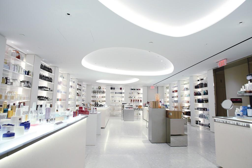 The beauty floor at Barneys New York.
