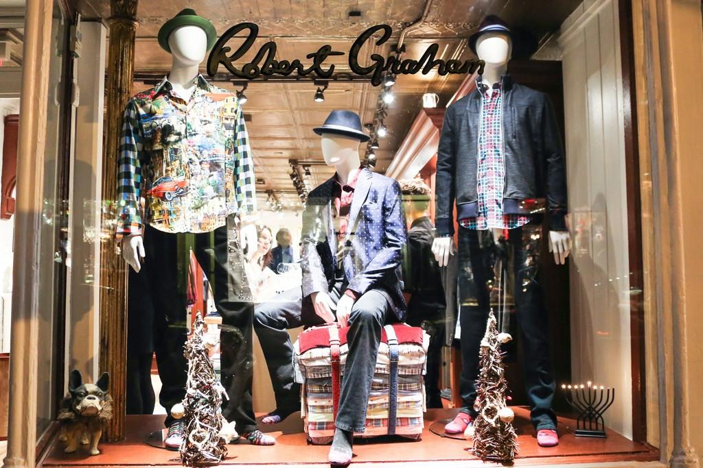 The Robert Graham store on Bleecker Street.