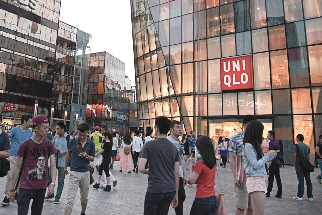 Uniqlo is Asia's fourth-largest denim brand.