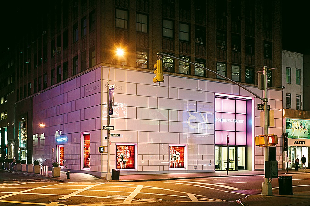 An exterior view of a Victoria's Secret store in New York.