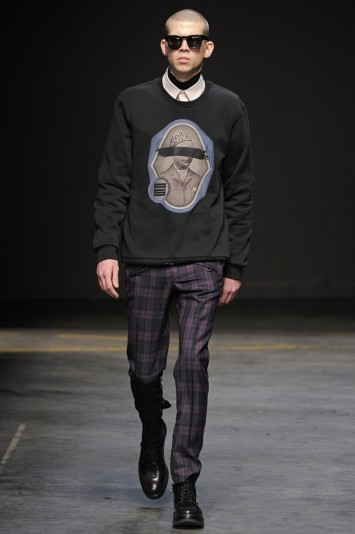 A. Sauvage Men's RTW Fall 2014