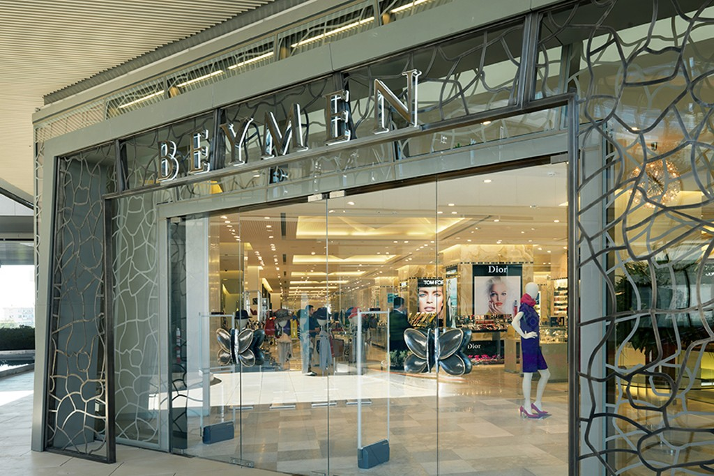 The Beymen flagship at the Zorlu Center in Istanbul.