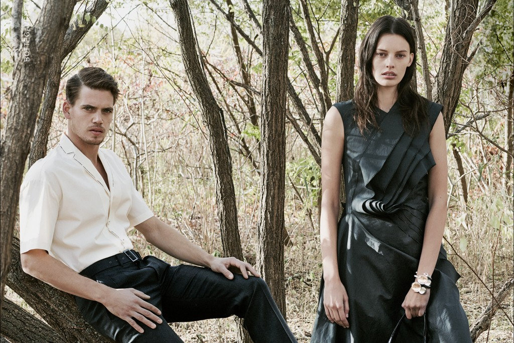 An image from the Bottega Veneta campaign.