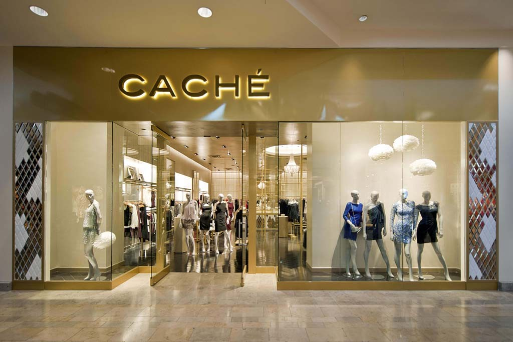 The Caché store prototype in Las Vegas opened in September, 2013.