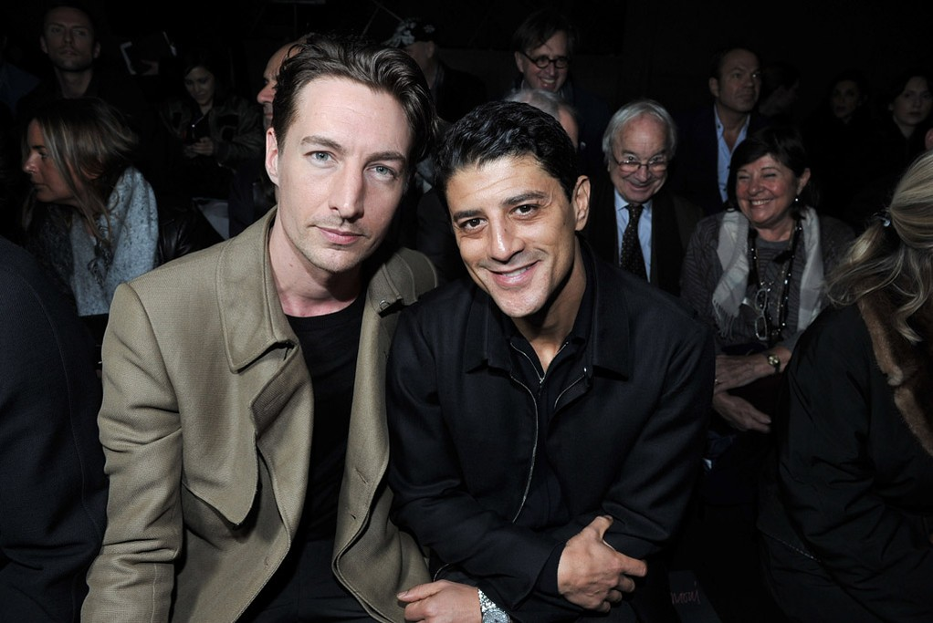 Benn Northover and Saïd Taghmaoui