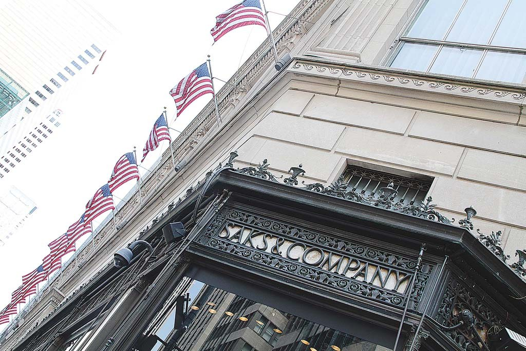 Saks is expected to have two stores in Toronto by spring 2016.