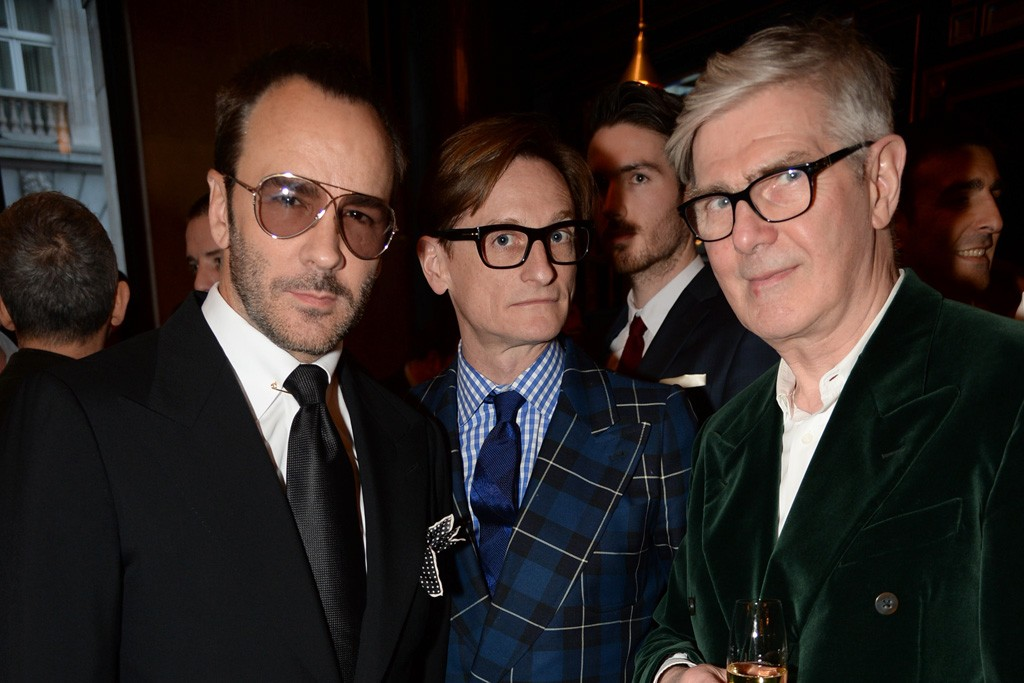 Tom Ford and Hamish Bowles