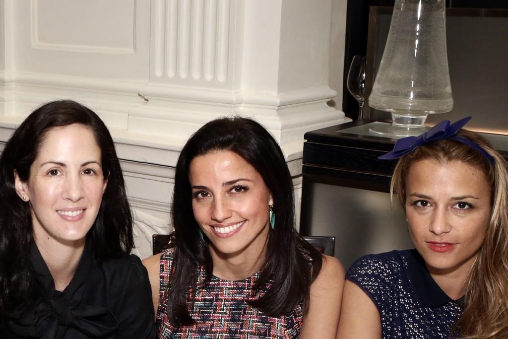 Patricia Herrera Lansing, Shoshanna Gruss and Charlotte Ronson.