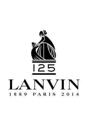 Lanvin's 125th anniversary logo.