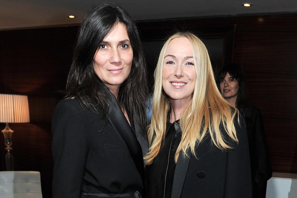 Emmanuelle Alt and Frida Giannini