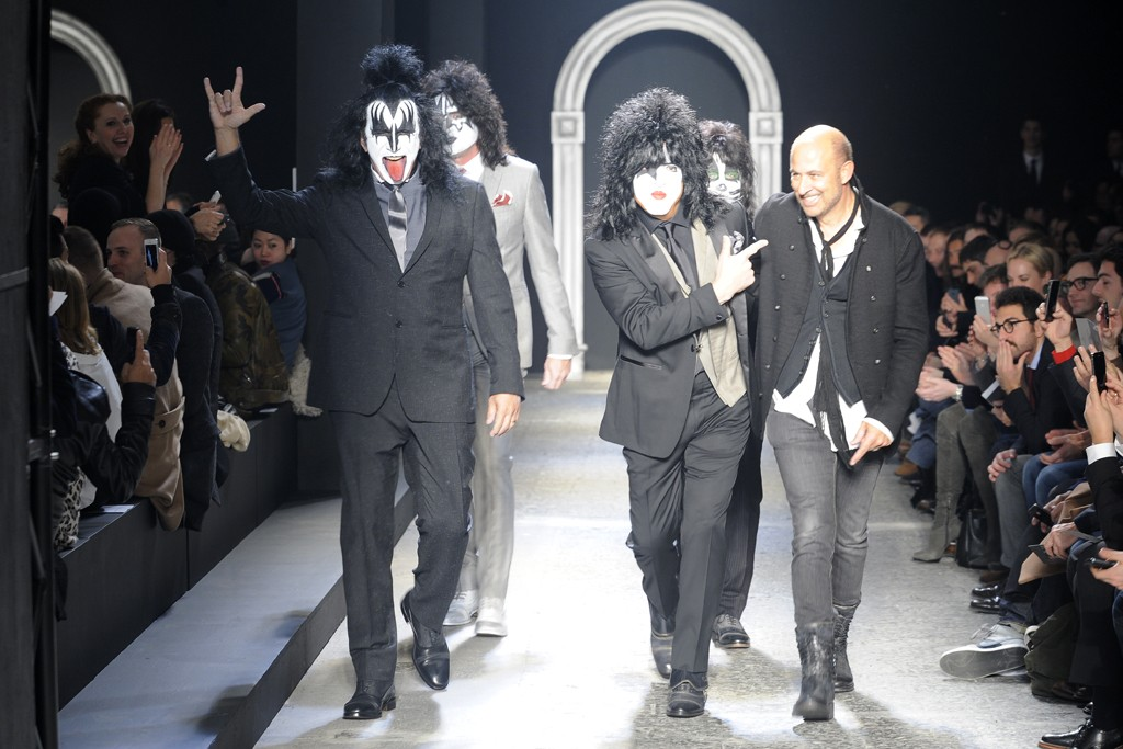 Kiss and John Varvatos