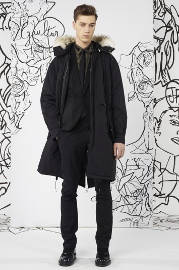 Jean Paul Gaultier Men's RTW Fall 2014