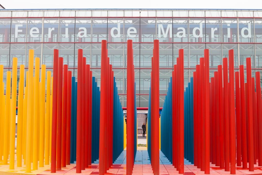 The Madrid fairgrounds.