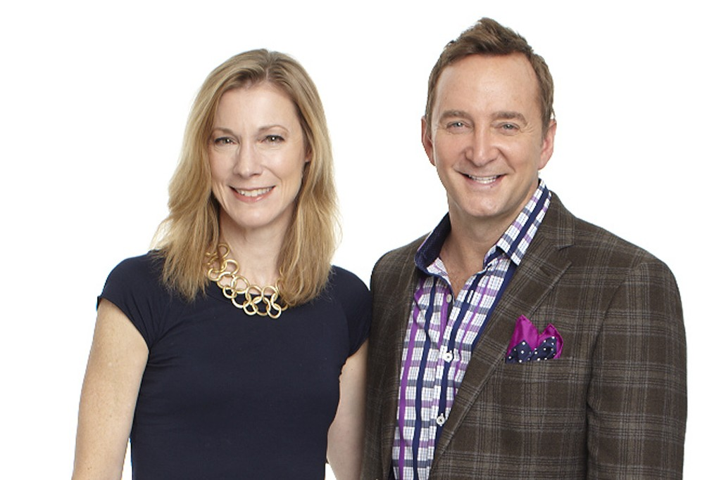 Woman's Day editor in chief Susan Spencer with Clinton Kelly.
