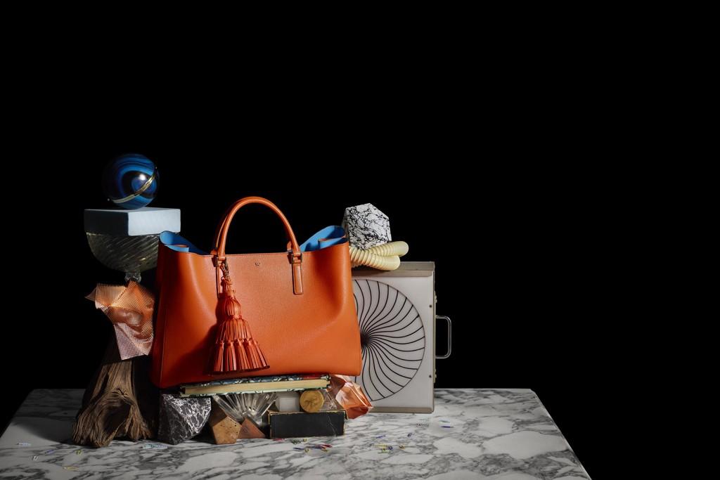 A handbag by Anya Hindmarch.