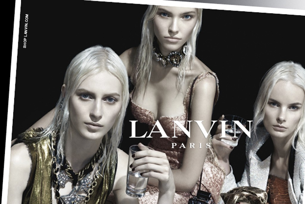 A spring Lanvin ad image.
