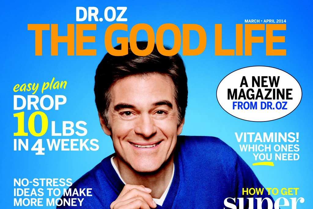 The cover of Dr. Oz The Good Life