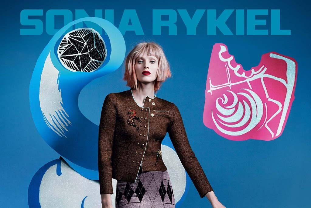 An image from Sonia Rykiel's spring '14 campaign.