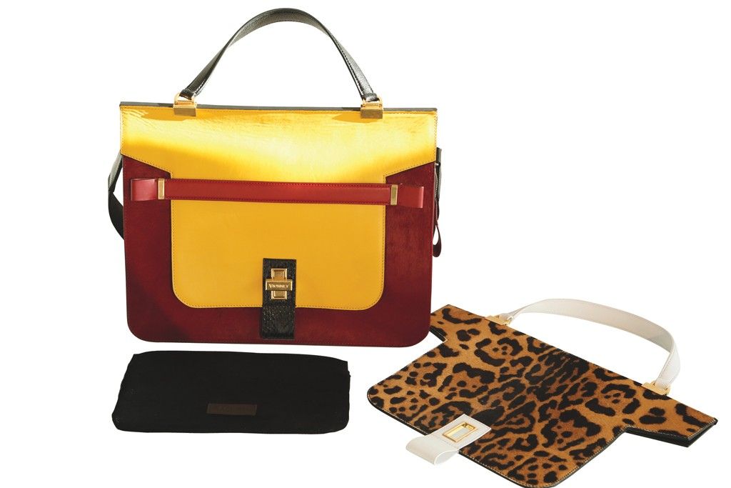 The new Mosaic bag with interchangeable pieces.