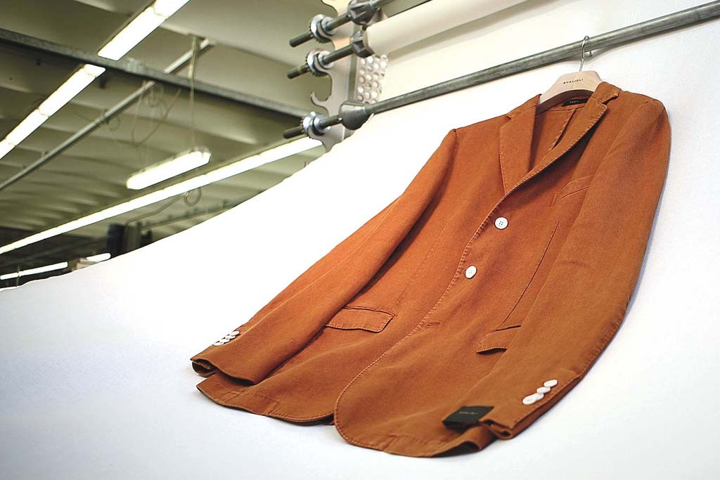 A sport coat from Boglioli.