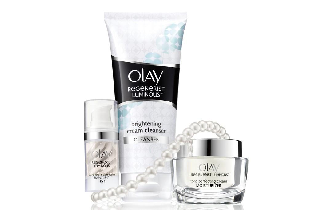 Olay Regenerist Luminous products.