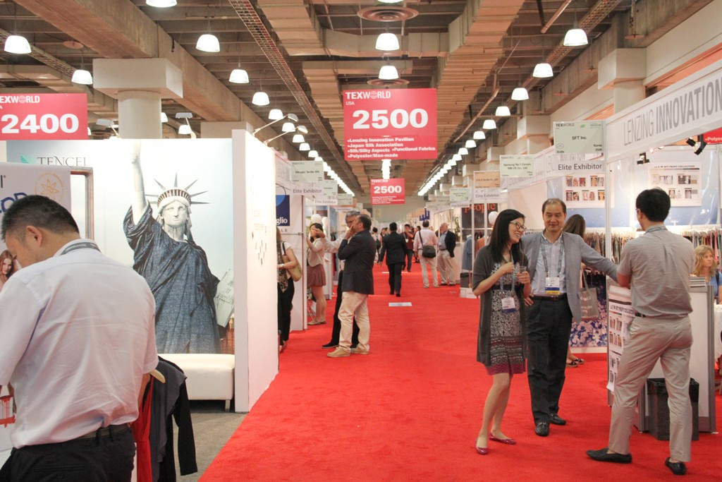 Texworld USA will feature 246 exhibitors from 18 countries.