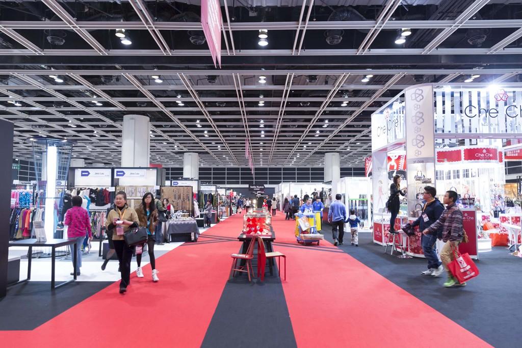 The floor at Hong Kong Fashion Week