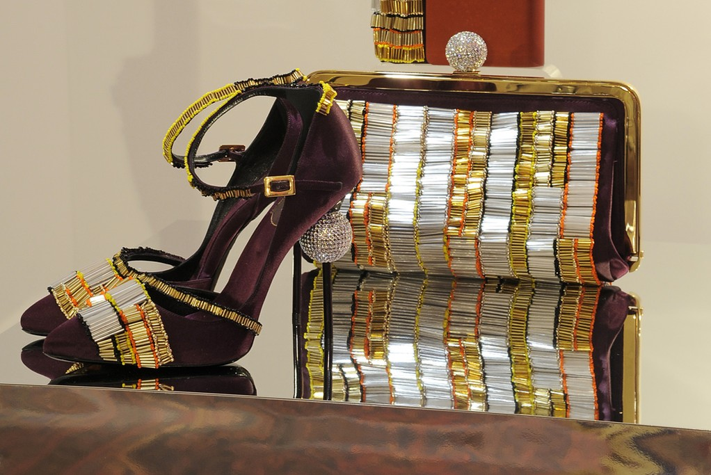 A look from Roger Vivier Rendez-Vous Fall 2014