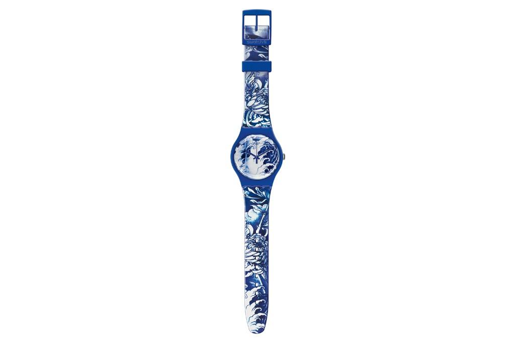 A Swatch watch.