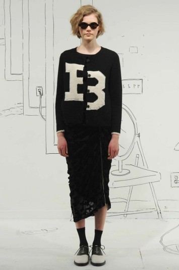 Band of Outsiders RTW Fall 2014