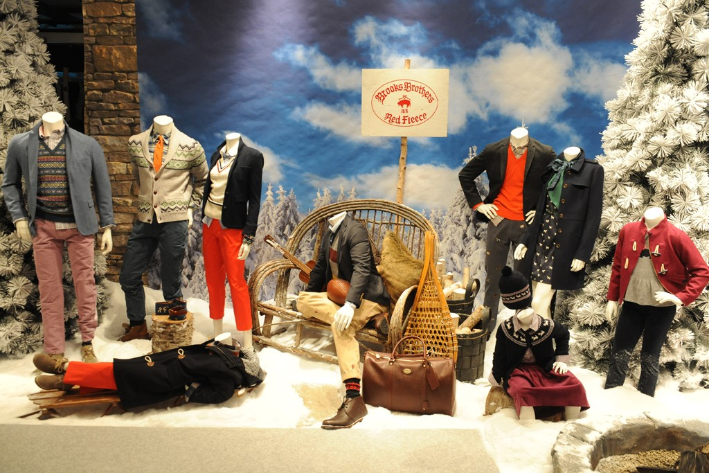 Looks from the Red Fleece collection.