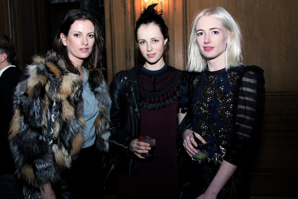 Claire Thomson, Edie Campbell and Phoebe Arnolds