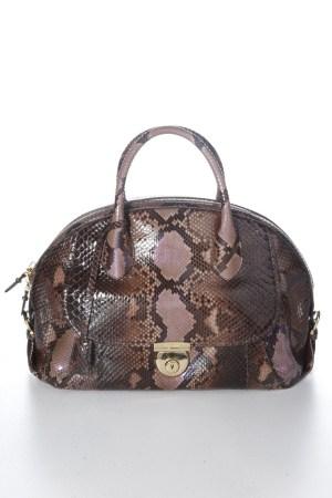 A Salvatore Ferragamo Fiamma bag.