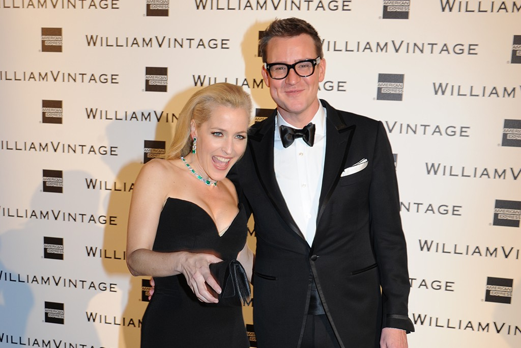 Gillian Anderson and William Banks-Blaney