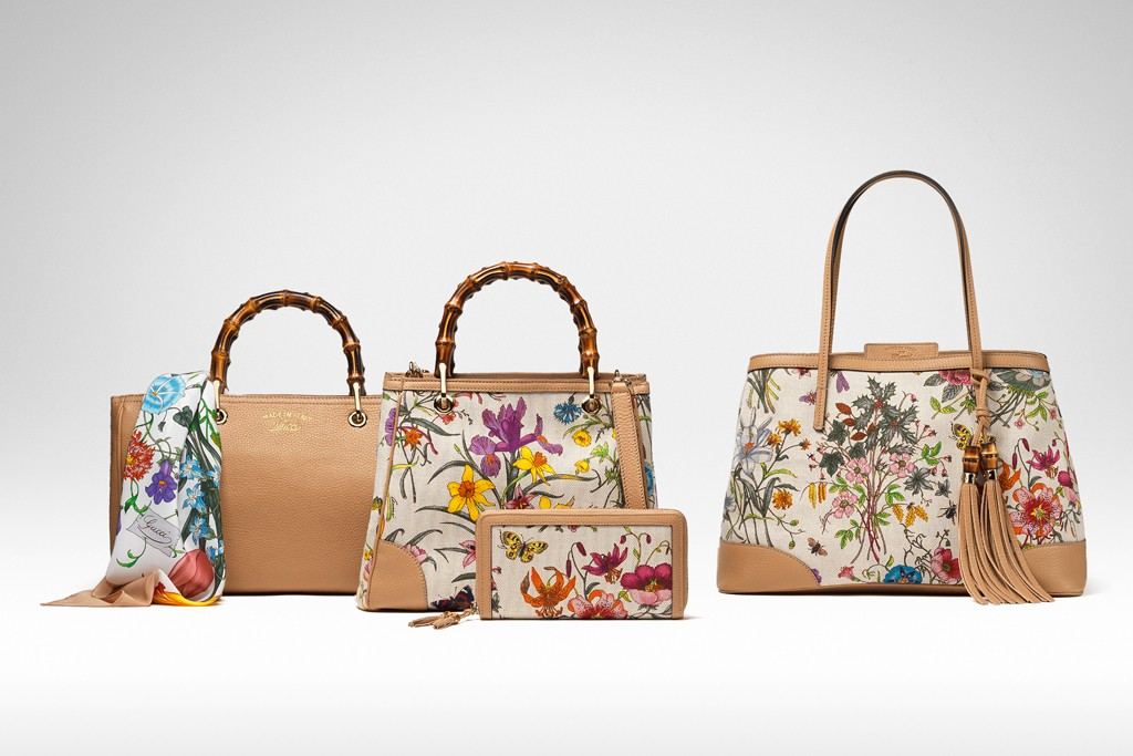 Items from Gucci's limited-edtion Flora collection.