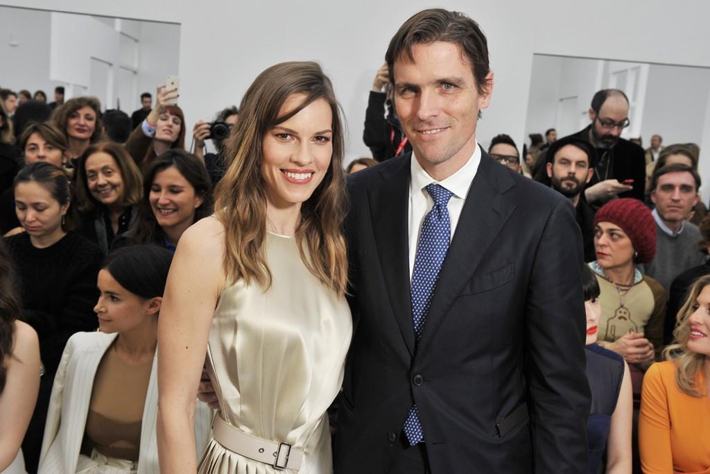 Hilary Swank and James Ferragamo