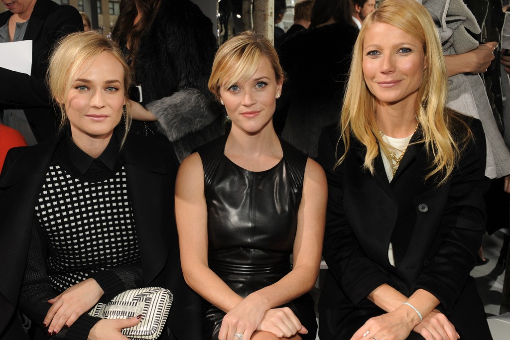 Diane Kruger, Reese Witherspoon and Gwyneth Paltrow.