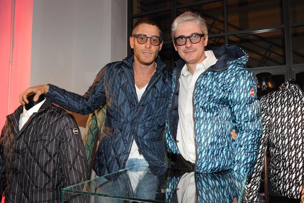 Lapo Elkann and Andrea Tessitore